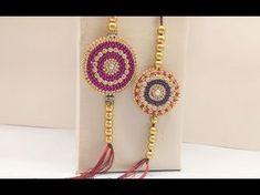 how to make rakhi at home/tutorial/Raksha bandhan/Magic Quill Quilling Rakhi, Handmade Rakhi Designs, Granny Square Pattern Free, Rakhi Making, Mehndi Desing, Crochet Hats For Boys, Raksha Bandhan, Quilling Designs, Art N Craft