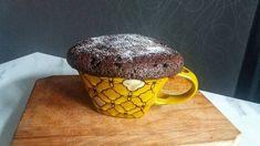 Prăjitură în cană la microunde Kara, Muffin, Pudding, Breakfast, Desserts, Recipes, Food, Morning Coffee, Tailgate Desserts