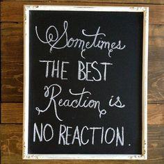 Do not react.keep calm