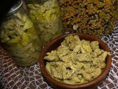 Zavařování dušeného masa (+) | Recepty Kořenísvěta.cz Kimchi, Preserves, Hummus, Frozen, Homemade, Canning, Ethnic Recipes, Food, Meat
