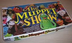 Vintage Muppet Show Parker Brothers game, 1977, very nice condition