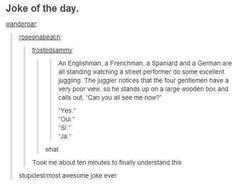 Nationalities joke