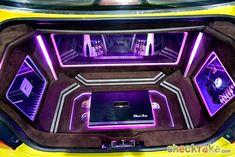 Custom Car Audio, Custom Cars, 2012 Mitsubishi Eclipse, Vw Golf Mk4, Car Audio Installation, Custom Car Interior, Car Audio Systems, Car Sounds, Custom Boxes