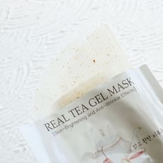 SKINFOOD Real Tea Gel Mask - Rose - Soko Glam