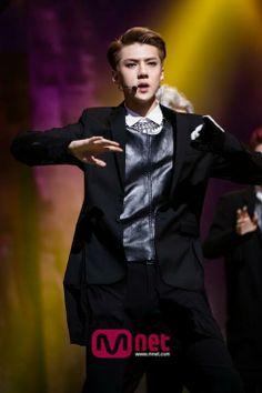 Sehun @ Mnet M! Countdown 140519