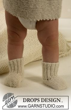 Calcetines en Alpaca Patrón gratuito de DROPS Design.