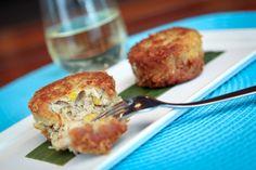 Crab Cakes, Corn, Fennel Recipe with Inniskillin Chardonnay