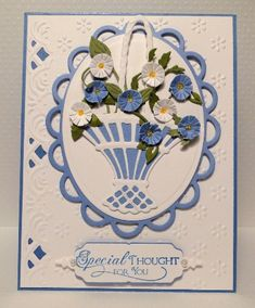 Posies in a basket by jasonw1 - Cards and Paper Crafts at Splitcoaststampers