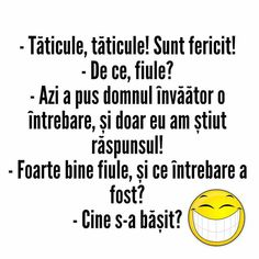 Baiat destept rau. Fart Humor, Some Jokes, Albondigas, Funny Times, Funny Comics, Funny Animals, Fun Facts, Texts, Haha
