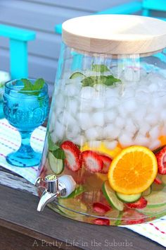 Easy & Delicious Flavoured Waters - A Pretty Life In The Suburbs
