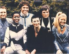 Blake's 7 (series 4 cast) Loved this show when I was a kid. Drama Tv Series, Bbc Drama, Bbc Tv Series, Sci Fi Tv Shows, Movies And Tv Shows, Sci Fi Movies, Movie Tv, Best Sci Fi Series, 80s Sci Fi