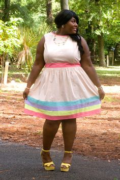 Pretty Pastels   :::Musings of a Curvy Lady::: #plussizefashion #curvygirl #psblogger #ootd #womensfashion