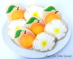 Georgia Themed Cookies by @BakingLoris at http://www.facebook.com/happylorisbaking via #TheCookieCutterCompany