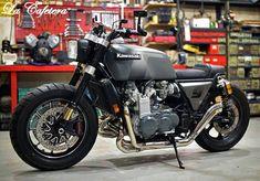 Kawasaki Z1300 Brat Cafe by La Cafetera #motorcycles #bratstyle #motos | caferacerpasion.com