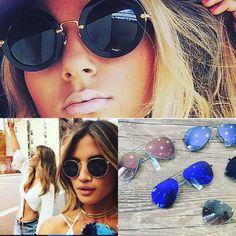 Anota aí: 03 modelos de óculos escuros vão ser tendência para o próximo verão : aviador ( sempre),lentes espelhadas e retrô ( redondinhos e cat eye). Conto tudinho no blog: www.feirinhachic.blogspot.com.br #feirinhachicblog #feirinhachic #instablogger #instafashion #instabeauty #beautyblog #fashionblog #oculosdesol #estilo #rayban #miumiu #illesteva #dior #diorsorealsunglasses #bleudame #verao2016 #summerstyle