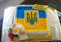 Love this Ukrainian-themed cake! Cake Ingredients, Homemade Tacos, Homemade Taco Seasoning, Oven Tacos, Ukrainian Recipes, Ukrainian Food, Buckwheat Noodles, Victorias Secret Models
