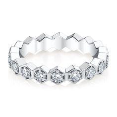 DIAMOND HONEYCOMB RING😍😍😍