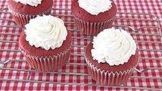 How to Make Red Velvet Cupcakes via Youtube