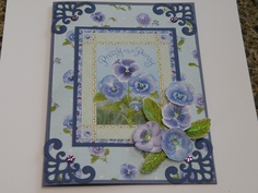 Card made using Jane Shasky C.D. Rom from Joanna Sheen, and Spellbinders dies.