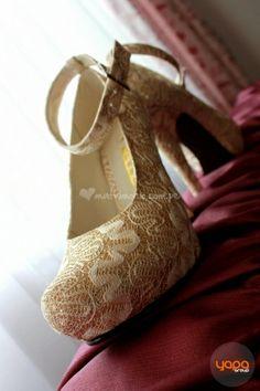 Hermosos tacones de novia. de Yapa Group   Foto 16