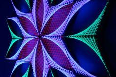 Origen Sx  arte cadena geometría sagrada psychedelic arte