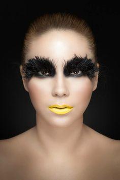 Make up, bird,