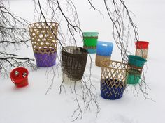 bow bins; weaving for the future | Harriet Goodall