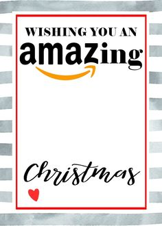 Gift cards are the perfect gift for anyone you want to make feel special this season! Make yours more festive with these fun free printables! Amazon Christmas Gifts, Teacher Christmas Gifts, Teacher Gifts, Merry Christmas, Best Gift Cards, Free Gift Cards, Free Gifts, Diy Gifts, Printable Gift Cards