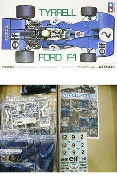 1 12 Scale 145972: Tamiya Big Scale Model 1 12 Tyrrell Ford F-1 Kit 12009 Derek Gardner Racing -> BUY IT NOW ONLY: $99.99 on eBay!