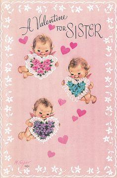 Vintage Valentine Card by jerkingchicken, via Flickr