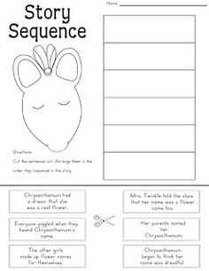 A 1st grade character worksheet for readings in world language ...