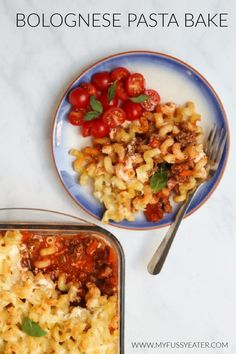 This Bolognese Pasta Bake is a delicious alternative to spaghetti bolognese with a tasty creamy cheese sauce on top. The ultimate in family home cooking! Vegetable Pasta Recipes, Roasted Vegetable Pasta, Creamy Pasta Recipes, Vegetarian Pasta Recipes, Baked Pasta Recipes, Pasta Dinner Recipes, Chicken Pasta Recipes, Pasta Salad Recipes, Pasta Salad For Kids
