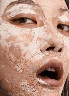 Mask Game: Ji Hye Park By Jem Mitchell For Vogue China November 2016, makeup by Maxine Leonard