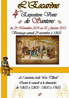 Expositions de santons à visiter - Santons et crèches de Provence