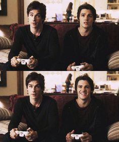 Damon Salvatore and Jeremy Gilbert <3