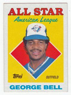 George Bell # 390 - 1988 Topps Baseball