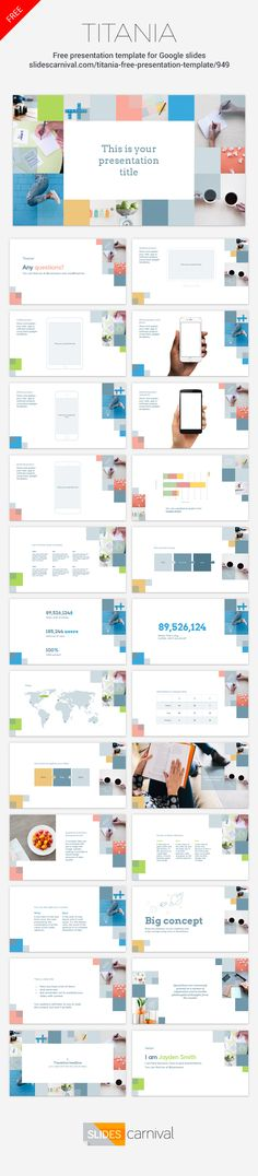 Positive, colorful and professional, this template suits a great variety of…