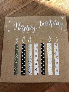 New birthday gifts cards ideas paper crafts 28 ideas Handmade Birthday Cards, Birthday Diy, Card Birthday, Simple Birthday Cards, Birthday Presents, Happy Birthday Art, Birthday Ideas, Birthday Souvenir, Birthday Parties