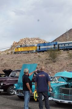 Car Show at Railroad Pass. #RailroadPass #RailroadPassCars