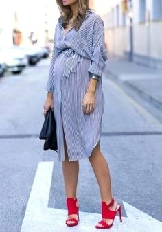 Best Ideas for baby bump clothes outfit ideas Fall Maternity Outfits, Stylish Maternity, Maternity Fashion, Maternity Dresses, Maternity Clothing, Maternity Styles, Maternity Swimwear, Pregnancy Fashion, Toddler Fashion