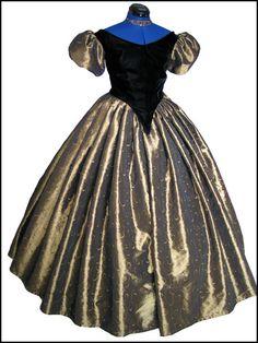 Authentic Civil War Ball Gowns   1800s Ball Dresses Victorian ball gown dress