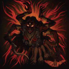 Shiva Art, Shiva Shakti, Hindu Art, Kali Shiva, Saraswati Goddess, Kali Goddess, Mother Goddess, Mother Kali, Divine Mother