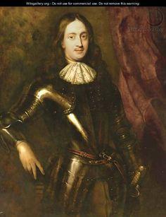 24 августа. Portrait of a gentleman - (after) Jan De Baen