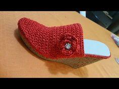 botas de crochet - YouTube