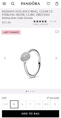ed4ae6646e266 747 Best PANDORA Rings images in 2019