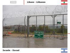 Confini amministrativi - Riigipiirid - Political borders - 国境 - 边界: 2006 IL-LB Iisrael-Liibanon Israele-Libano