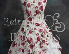 Gothic Victorian Dress. Asymmetric Designer Dress handmade halter frill dress. XL / XXL Plus size.