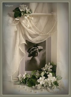 I love the presentation with this. Pearls & sheers