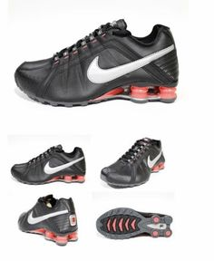 475b2ac00322 NEW Women s Nike Shox Vaeda Junior Running Shoes 454339-016 Size 9.5 NWOB  Black