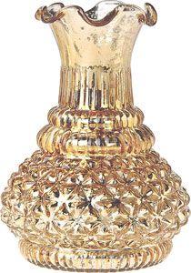 gold mercury glass